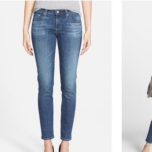 AG The Stilt Cigarette Leg Jeans Denim